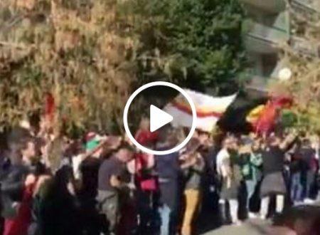 VIDEO – La curva carica la squadra a poche ore dal derby.