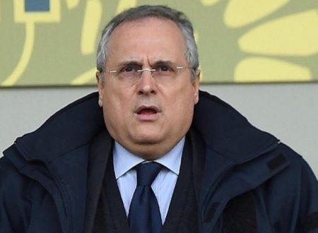 Clsmoroso Lotito dichiara la sua omosessualita'. Fatto sesso con alcuni giocatori della Lazio